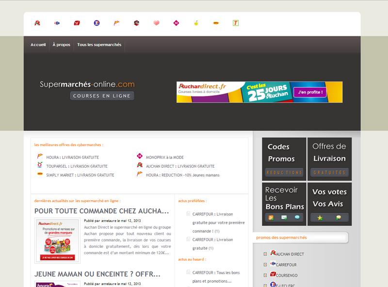 Supermarchés Online .com