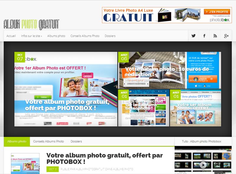 Album photo gratuit .fr