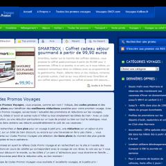 Codes Promos Voyages .fr